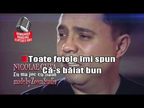 NICOLAE GUTA - EU MA JOC CU BANII, KARAOKE SUPER STARS