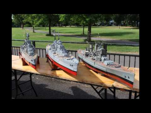 RC Battleships.  HMS Hood, HMS Vanguard,  HMS Howe