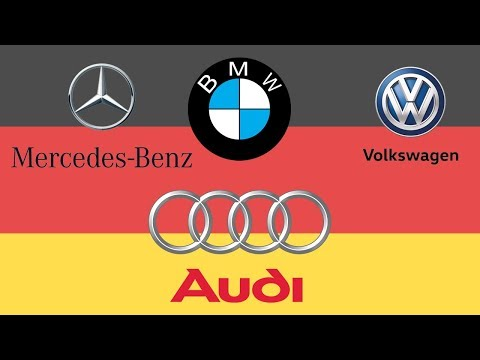 German Car Brands Names – List And Logos