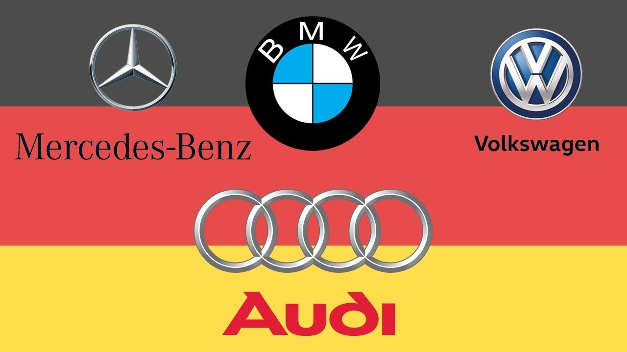 German Car Brands Names List And Logos Youtube