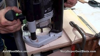 2 Of 4 • Plunge Cutting A Mortise • Diy Router Cradle