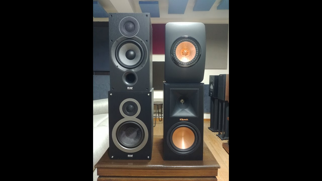 Elac Debut B6 2 Review vs KEF LS50, Elac B6, Klipsch RP160M