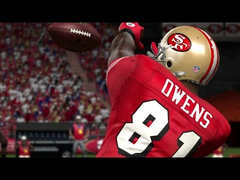 TERRELL OWENS THROUGH THE YEARS - MADDEN 97 - MADDEN 13?