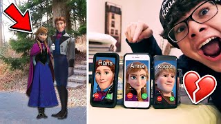 DO NOT CALL ANNA, KRISTOFF, AND HANS (FROM FROZEN 2) AT THE SAME TIME!!!  *HUGE FIGHT*