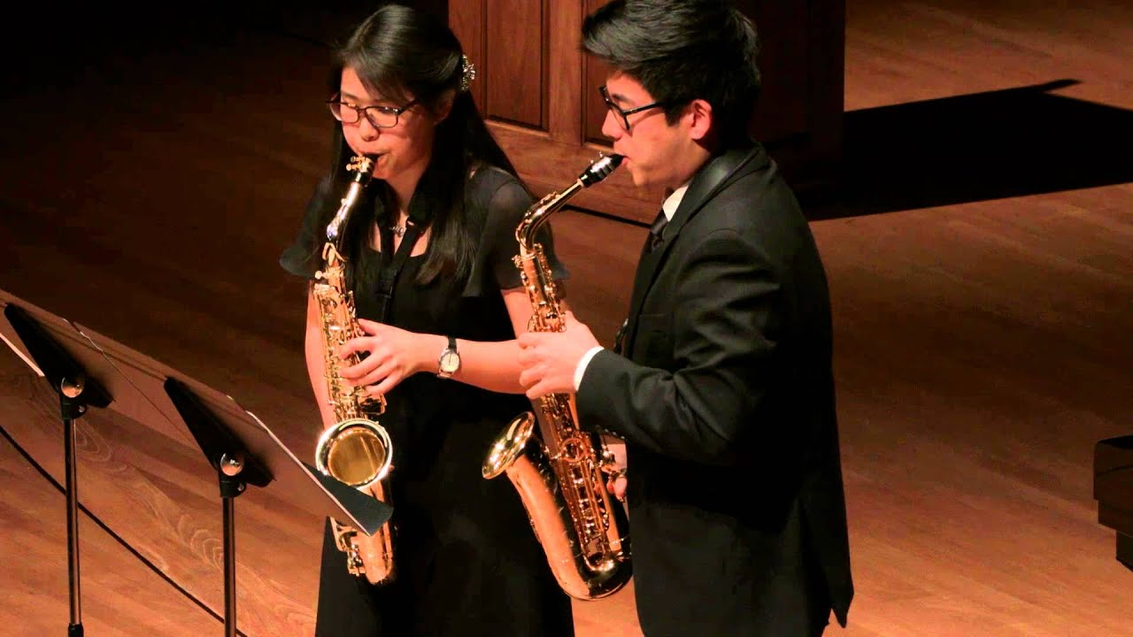Hindemith: Konzertstucke for Two Alto Saxophones