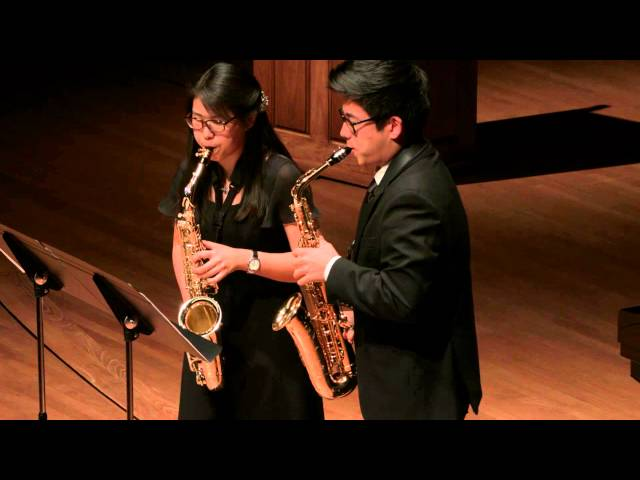 Hindemith - Konzertstucke for Two Alto Saxophones