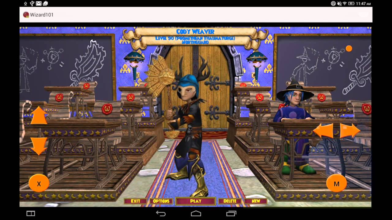 Wizard101 on Android | Online Video Resources | CodeWeavers