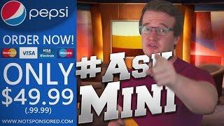 THE APARTMENT FAREWELL, MY HIDDEN CHANNEL, PEPSI!! - #AskMini
