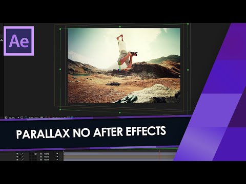 Como Transformar Fotos 2D em 3D no After Effects!