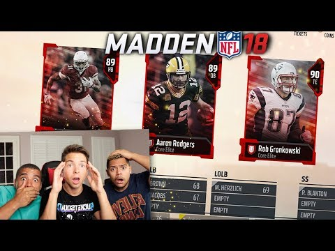 *INSANE* 3 PLAYER DRAFT!!! MADDEN 18 DRAFT CHAMPIONS
