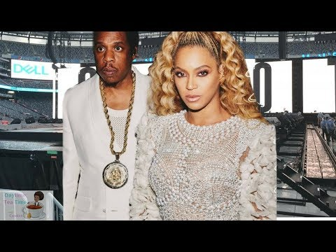 BEYONCE and Jay Z get ATTACKED by FAN on Stage in ATLANTA (FULL VIDEO)