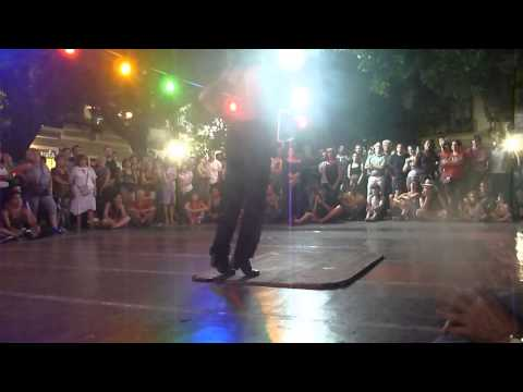Folklore Dancing in San Telmo, Buenos Aires
