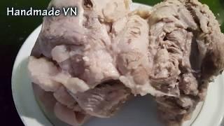 Cách luộc thịt thơm ngon trắng giòn ai cũng nên biết