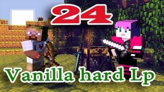 ч.24 Minecraft Vanilla hard Lp - Сражение с первым боссом (Иссушитель)