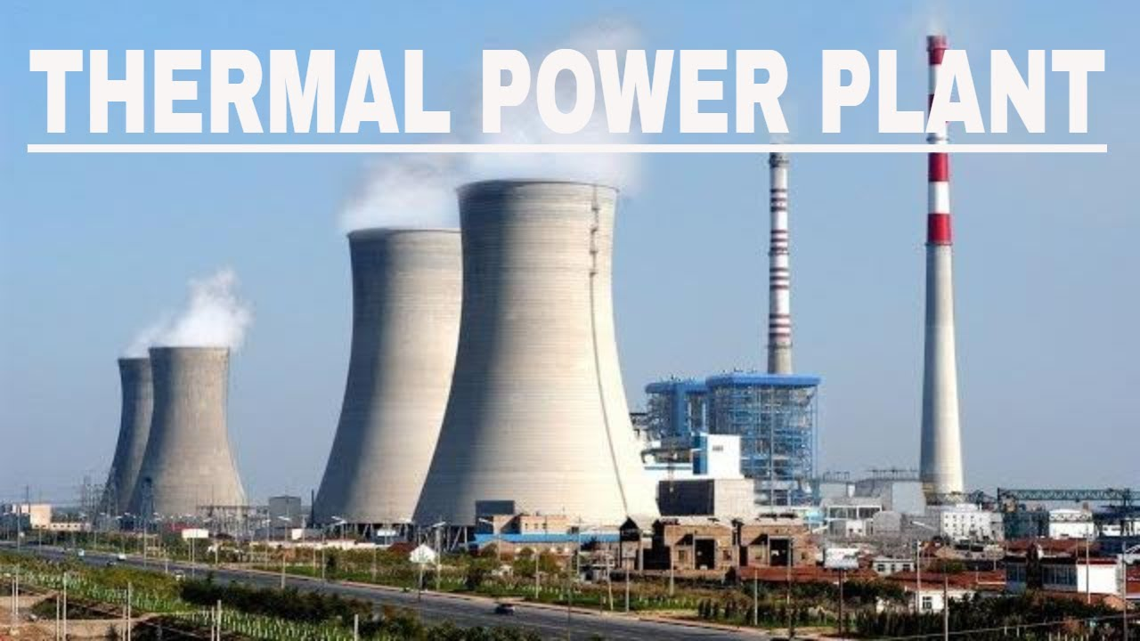 Boiler, Turbine and Generator in Thermal Power Plant - YouTube