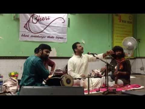 Vishnudev Namboothiri - Carnatic Music Concert - BHERI