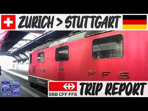 SBB INTERCITY REVIEW / ZURICH TO STUTTGART / SWISS TRAIN TRIP REPORT