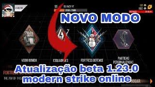 Atualização beta 1.23.0 - modern strike online