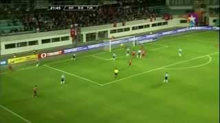 Estonya 0- 2 Türkiye Maçın Özeti ve Golleri 11.10.2013 720p Hd