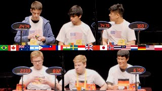 Rubik 39 s Nations Cup WCA World Chionship 2019 feat Germany United States China Australia
