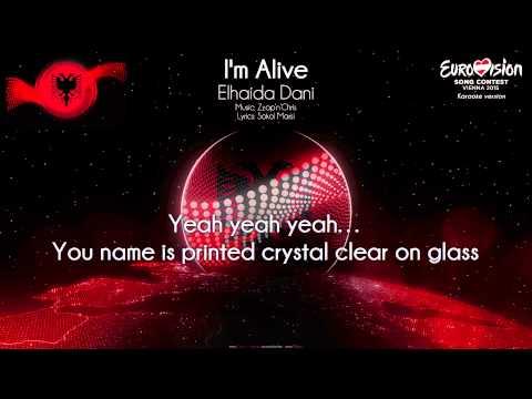 "Elhaida Dani - ""I'm Alive"" (Albania) - [Karaoke version]"