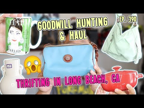 THRIFTING IN LONG BEACH, CA | GOODWILL HUNTING & HAUL EP. 390