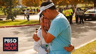 News Wrap: Gunman kills 2 at Southern California high school