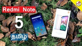 Redmi note 5 Unboxing & First Impression | Tamil Tech