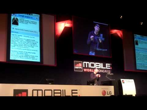 Google Goggles Image Search and OCR Translation (MWC10)