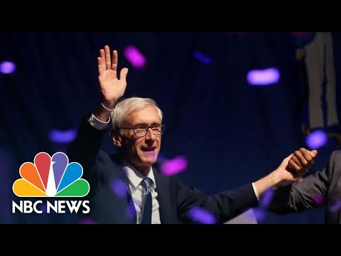 Dems Tony Evers Claims Victory Over Republican Scott Walker In Wisconsin Governor Race | NBC News