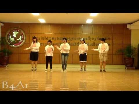 B4A1 (B1A4's dance cover) - What's Going On dance practice