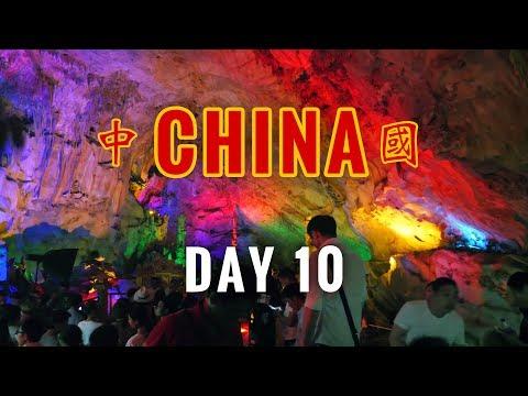 China Vlog Day 10 // Lianzhou Underground River // 2017.4.30