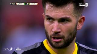 ملخص لمسات كارلوس فيلانويفا في مباراة الاتفاق
