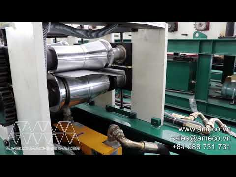 Banawe Roof & Wall Panel Roll Forming Machine | Máy Cán Louver