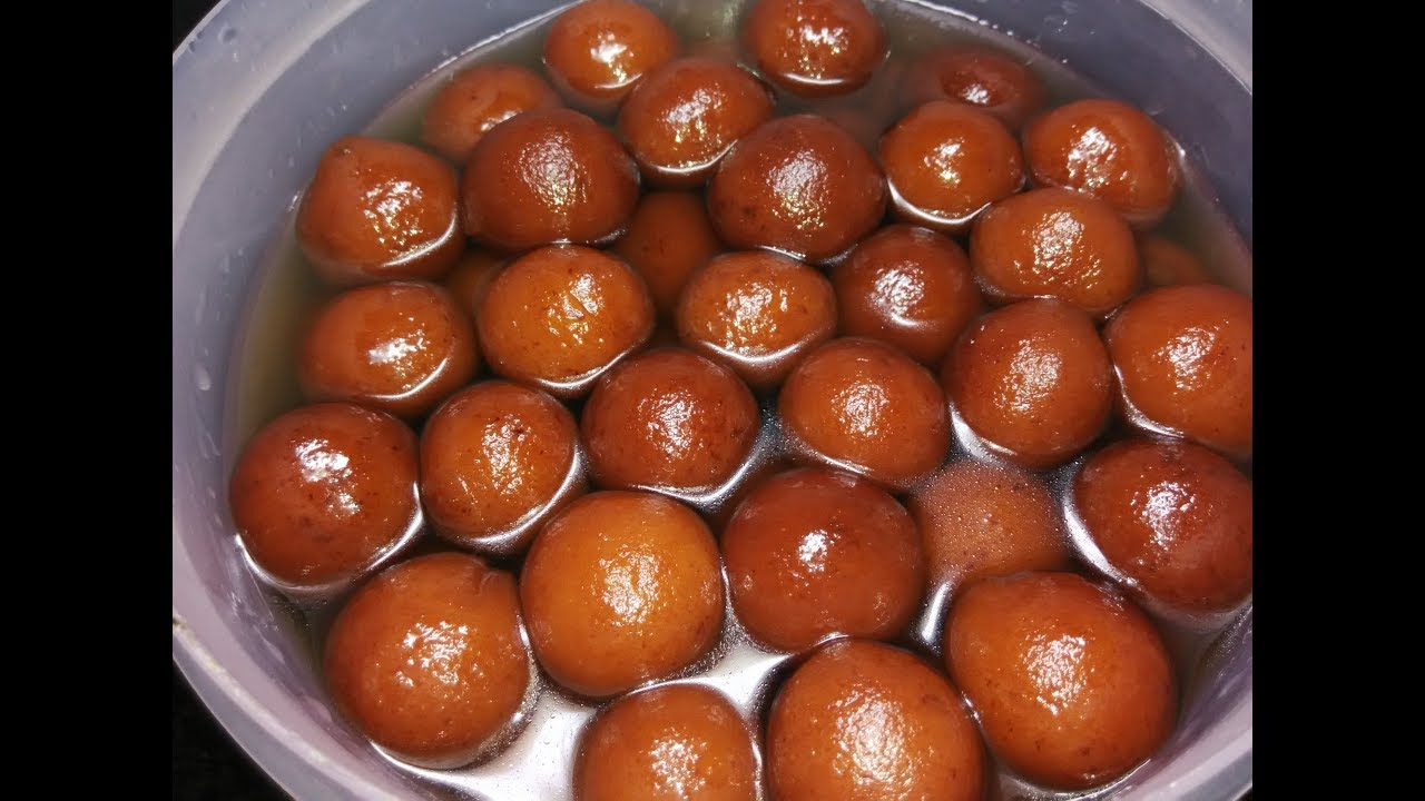 Khova Gulab Jamoon Recipe Easy And Simple Sweet Recipe Khova Use Maadi Madiruva Gulab Jamoon