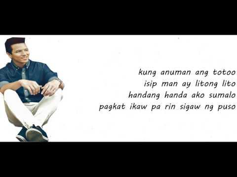 TJ Monterde - Dating Tayo  [Lyrics]