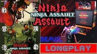 NINJA ASSAULT ARCADE - LONGPLAY