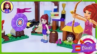 lego friends adventure camp archery set build review silly play kids toys