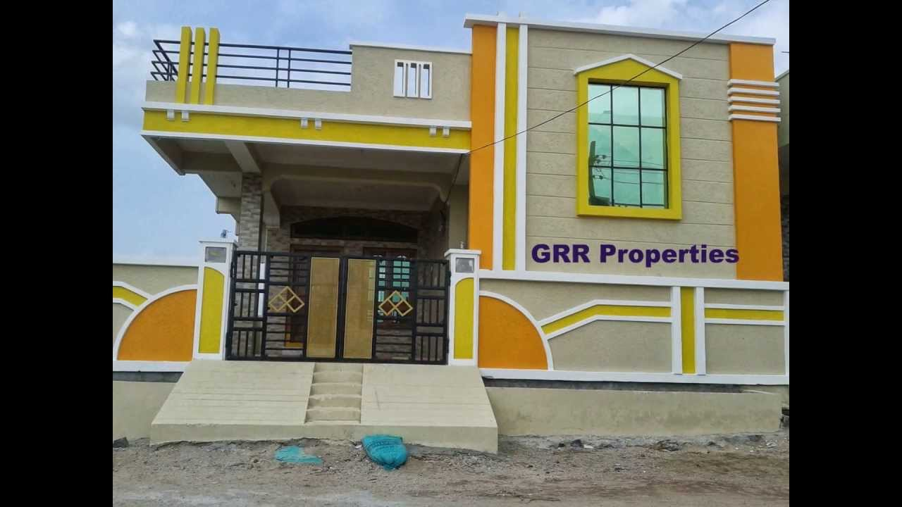Front Elevation Designs Of Houses In Hyderabad : Grr properties independent houses and open lands in india