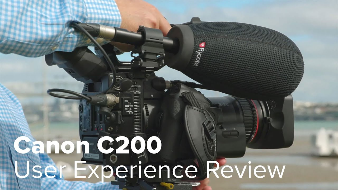 Canon EOS C200 Digital Cinema Camera with LCD Kit