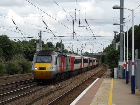 Kensington Olympia to Hitchin via the Southern WCML & ECML (28-07-2015)