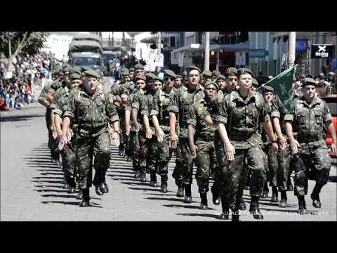 Desfile do 11°BIMTH Regimento Tiradentes  7 de setembro de 2018