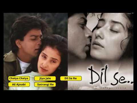 1998 Movie Dil Se, @Audio Jukebox Shahrukh Khan, Manisha Koirala