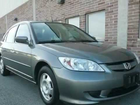 2004 Honda Civic Hybrid CVT MPG 48 GAS SAVER VERY LOW MILES (Naperville,  Illinois)
