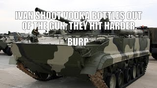 A Smashing game in the BMP-3