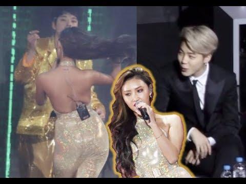 BTS Reacts To Hwasa At Golden Disk Awards 2019