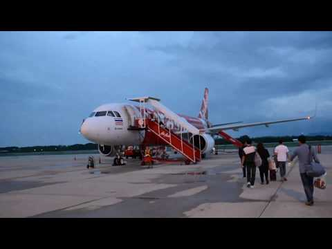 AirAsia: Phitsanulok to Bangkok full flight