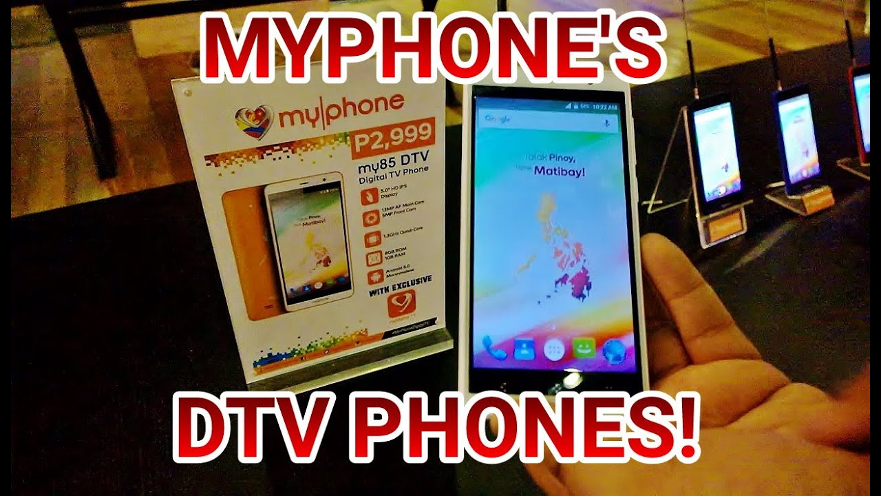 MyPhone Launches New Line Of Digital TV Equipped Smartphones - The
