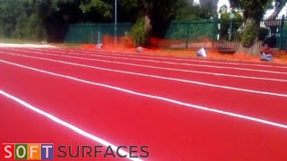 Multi Lane Polymeric Long Jump Construction in St Albans, Hertfordshire
