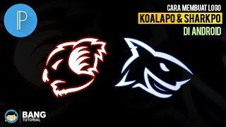Cara Membuat Logo KoalaPo & SharkPo di Hp Android | PIXELLAB TUTORIAL #3